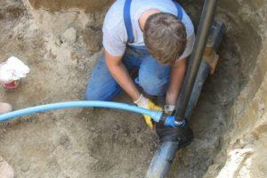 Самовольное подключение к водопроводу