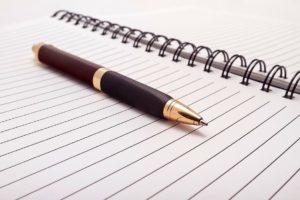 Расписка написанная от руки